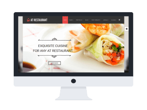 LT Restaurant Joomla! template Main