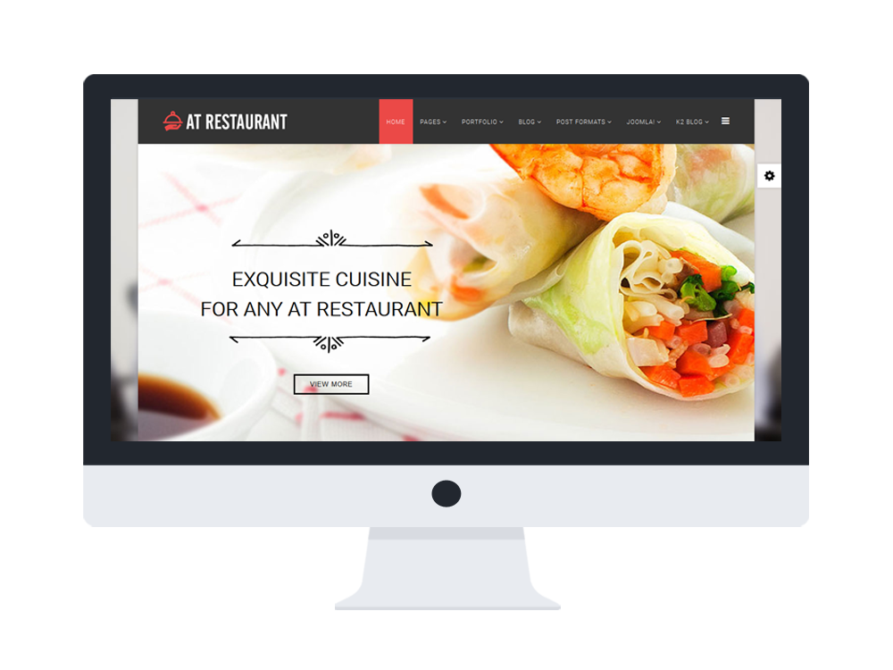 at restaurant onepage free food order restaurant onepage joomla