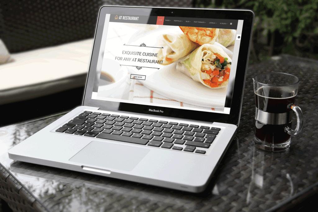 LT Restaurant Joomla! template Picture