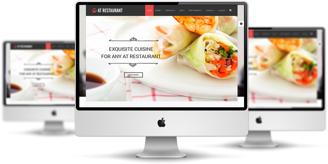 At restaurant free food order joomla