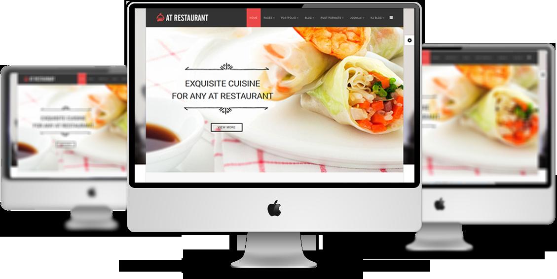 At Restaurant Free Food Order Restaurant Joomla