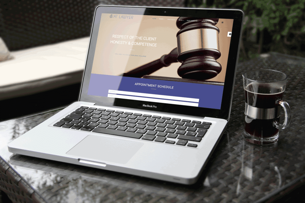 Lawyer Joomla! template