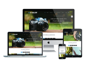 Responsive AT Gallery Joomla template