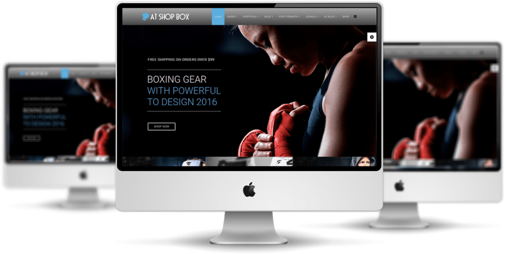 Responsive AT Shopbox Joomla! template