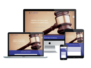 Responsive Lawyer Joomla! template