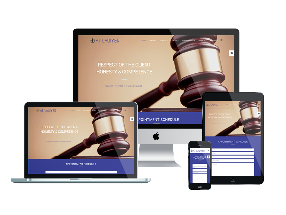 at lawyer onepage free law firm onepage joomla template age themes