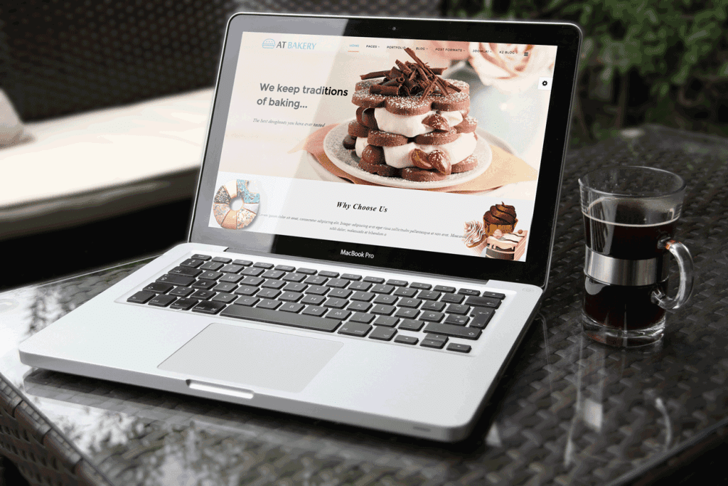 AT Bakery Joomla template Preview