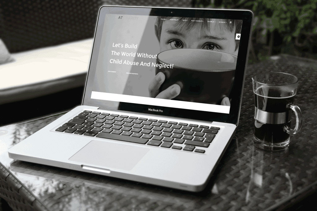 AT Charity Joomla template Main