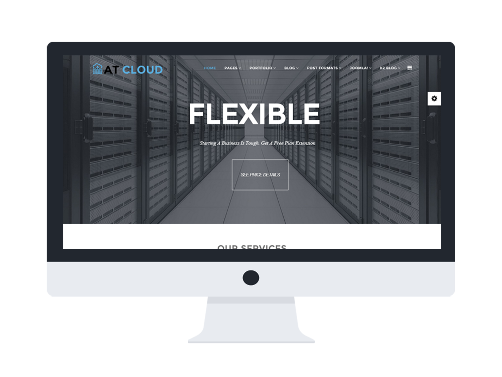 AT Cloud Joomla template main
