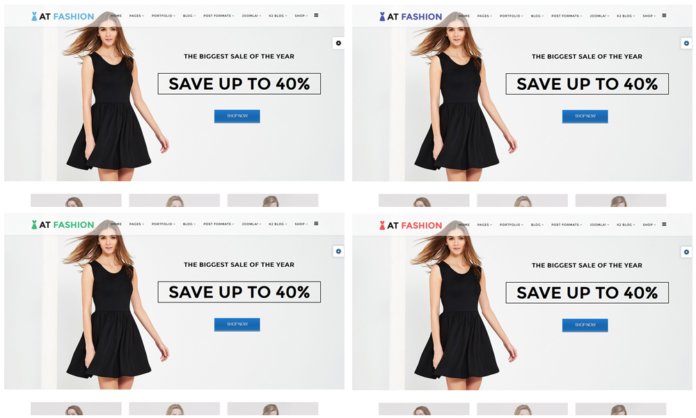 AT Fashion Shop Joomla template color styles