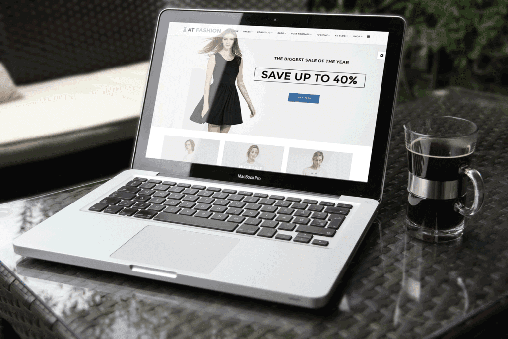 AT Fashion Shop Joomla template free
