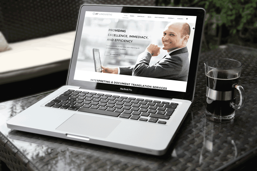 AT Linguistic Joomla template Free