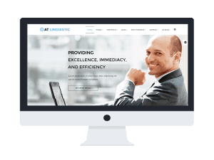 AT Linguistic Joomla template Preview