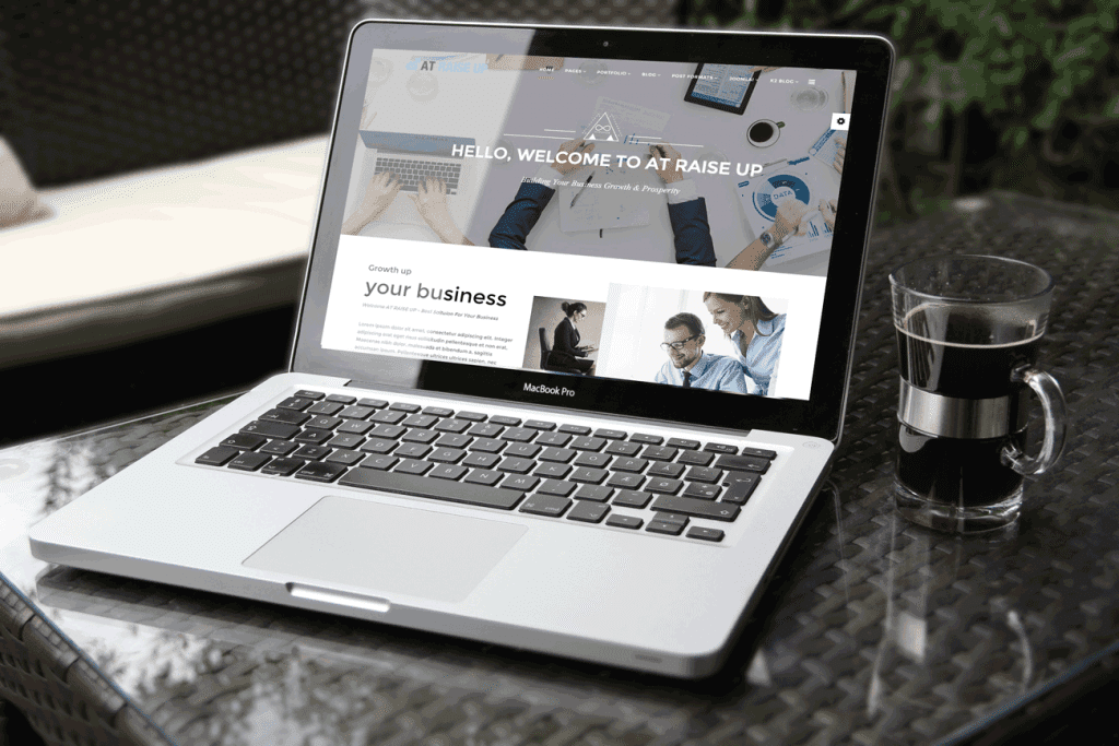 AT Raise Up Joomla template Free
