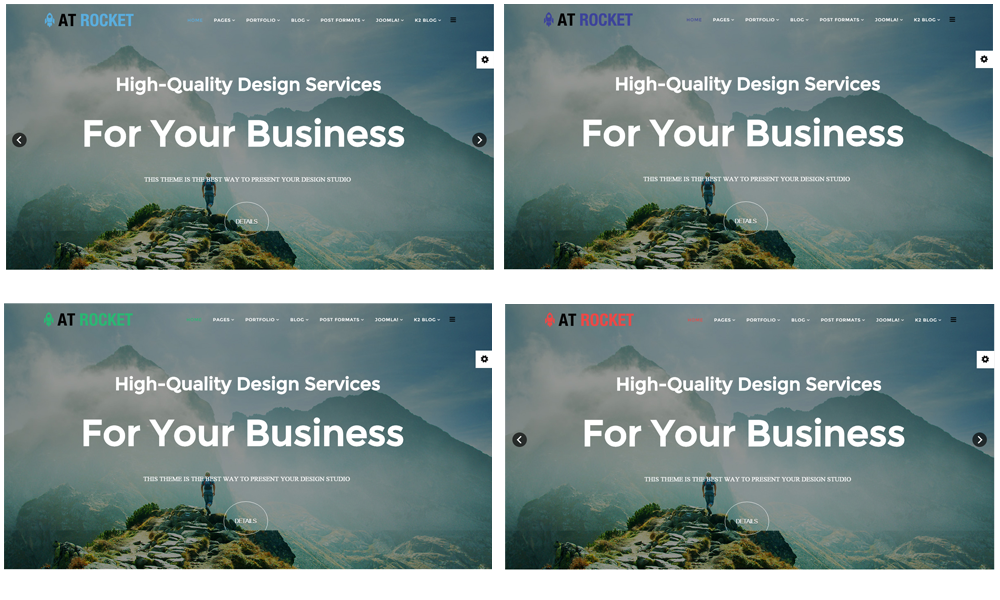 AT Rocket Joomla template color styles