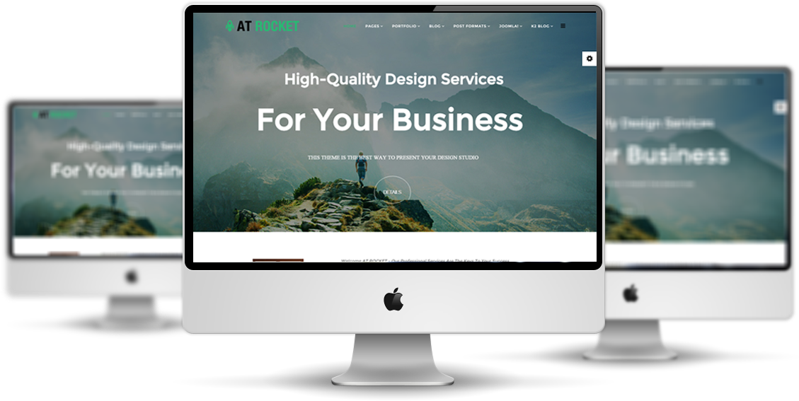 AT Rocket Joomla template preview
