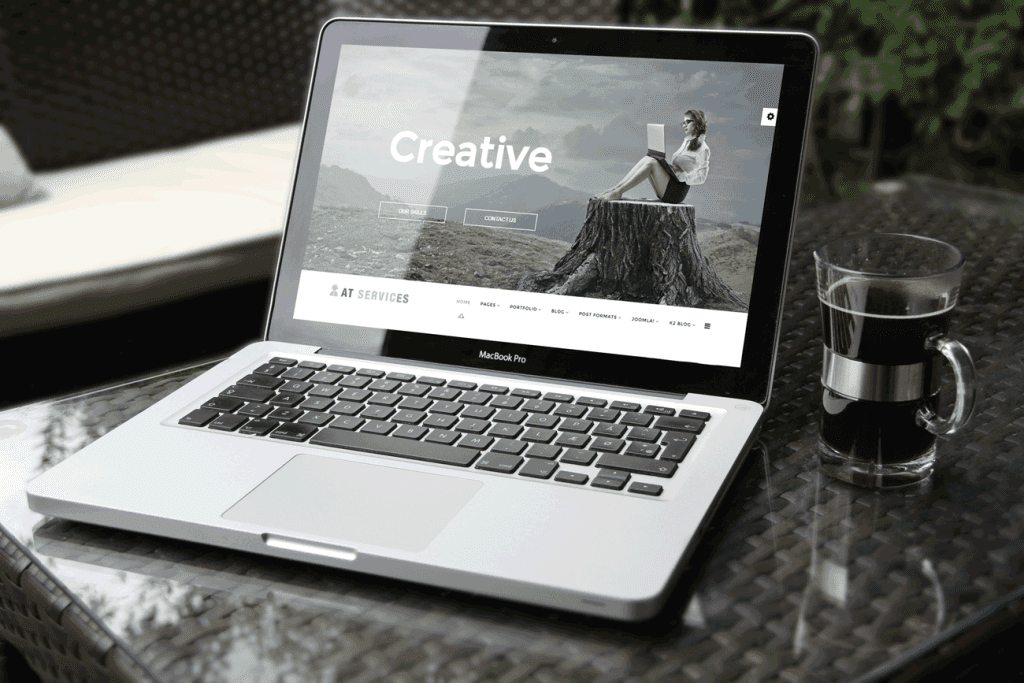 AT Services Joomla template free