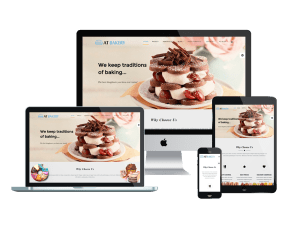 Responsive AT Bakery Joomla template
