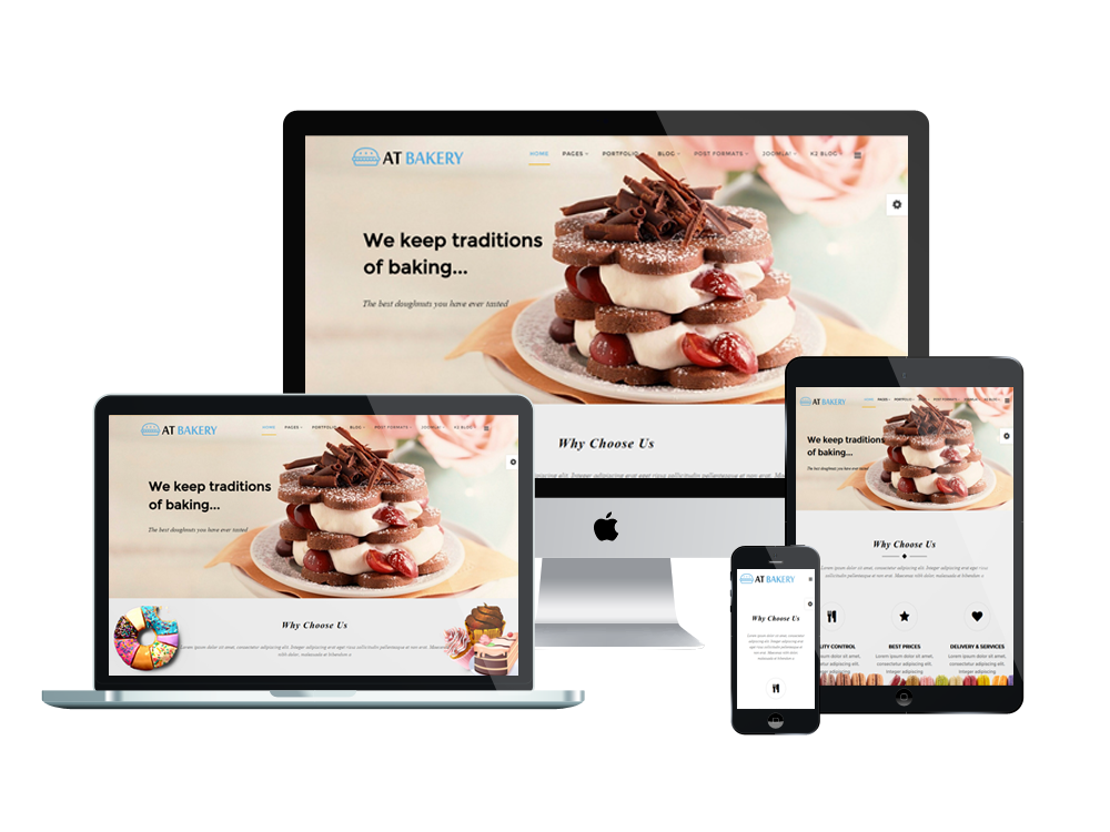 AT Bakery Onepage – Free Bread Store / Bakery Onepage Joomla ...