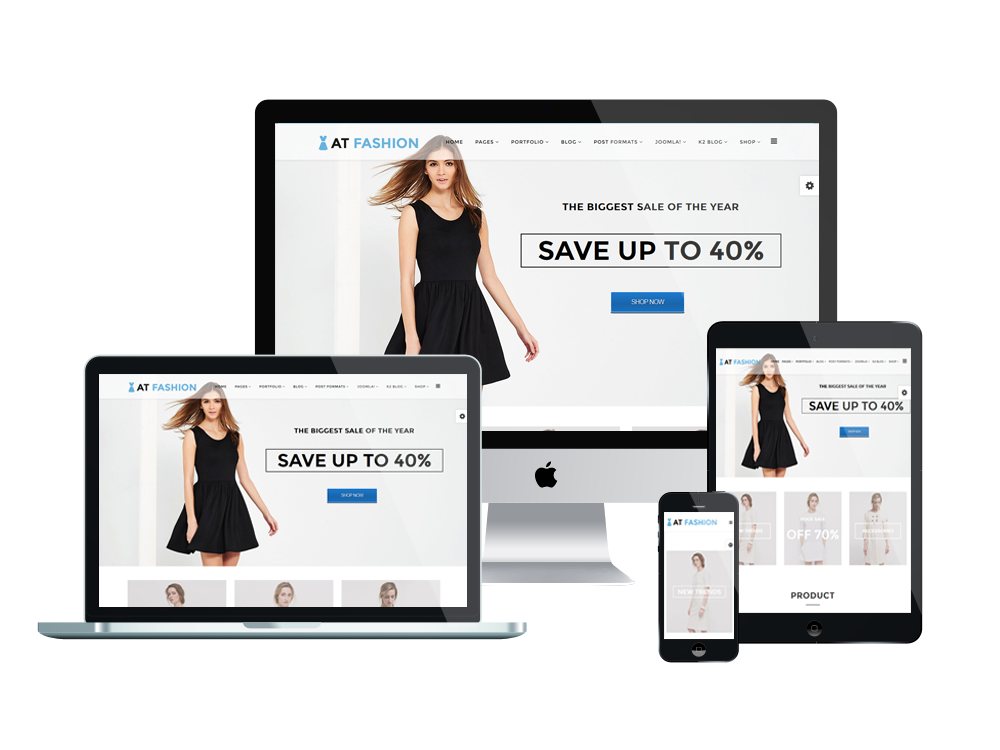 Responsive AT Fashion Shop Joomla templat
