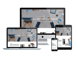 Responsive AT Raise Up Joomla template