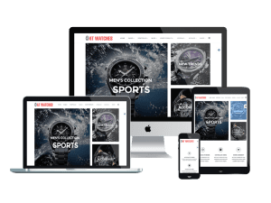 Responsive AT Watches Shop Joomla template
