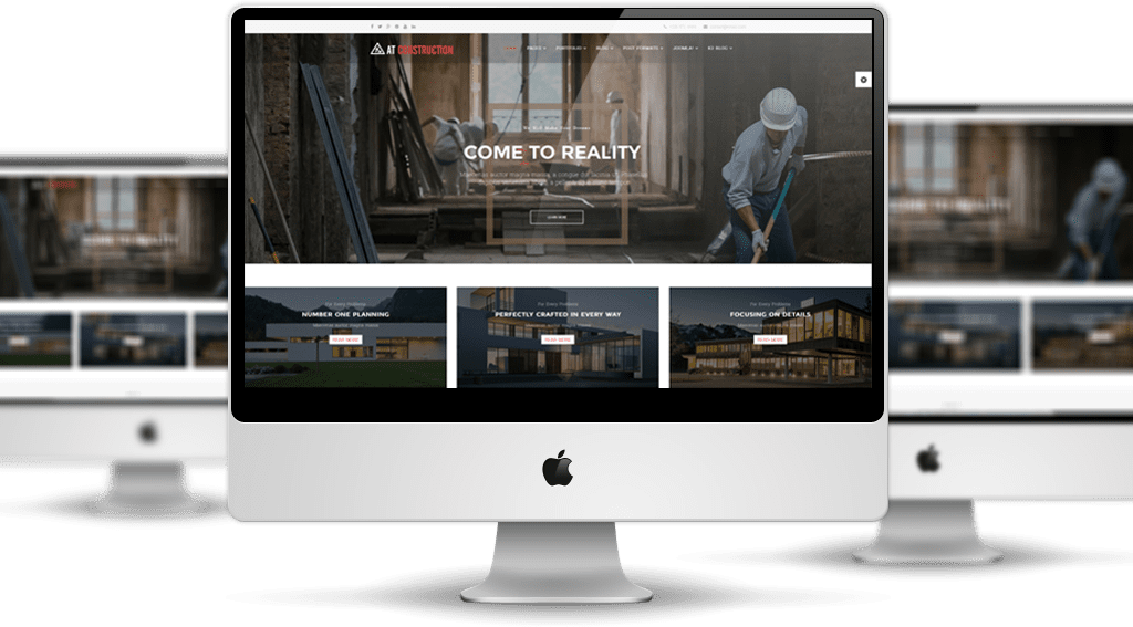 AT Construction Joomla! template