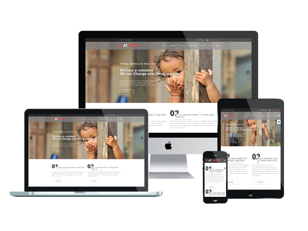 AT Dority responsive joomla template