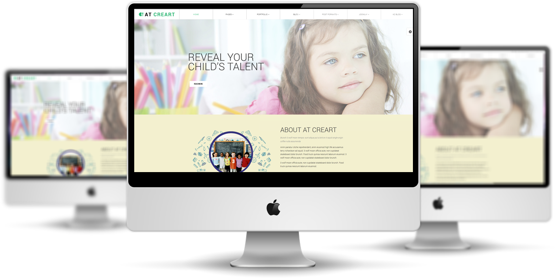 creart-Joomla-template-View