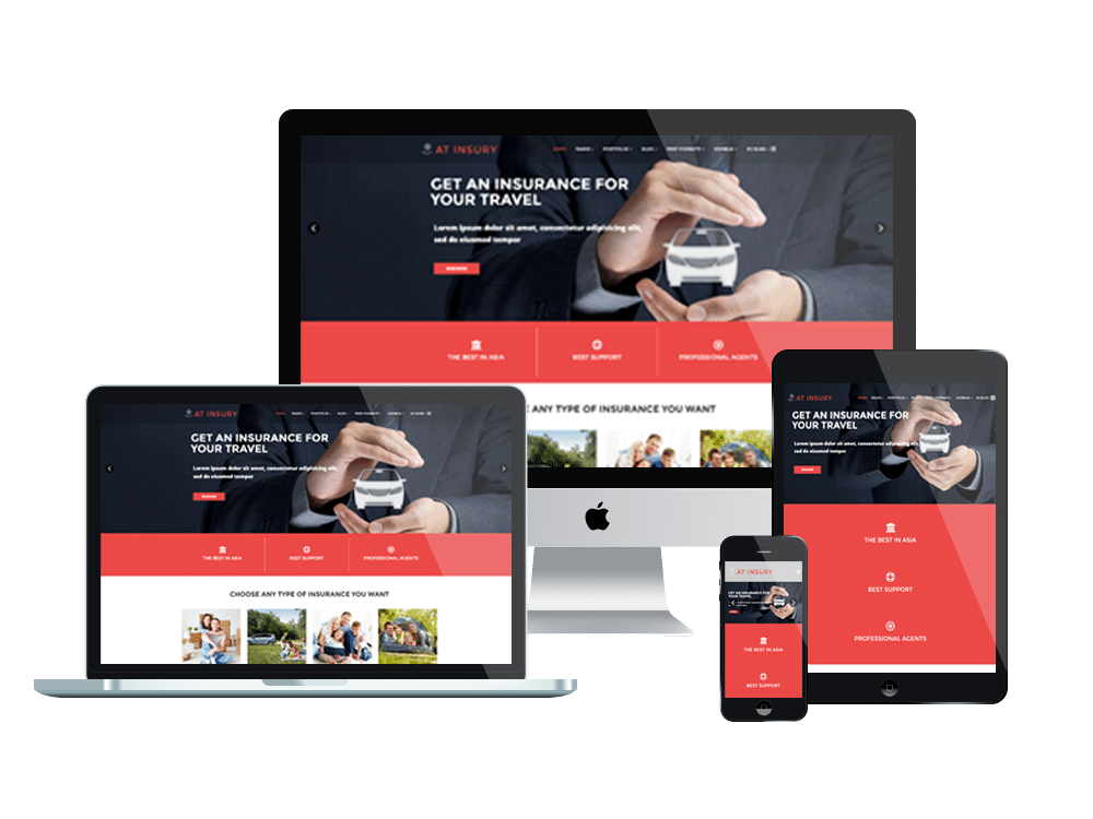 at insury  u2013 free responsive insurance joomla template