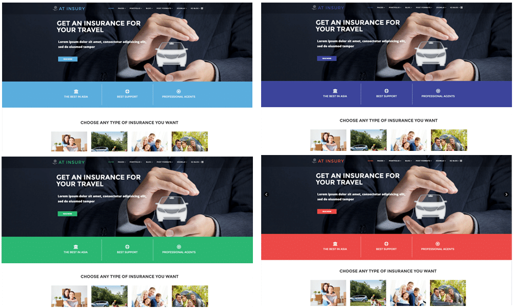 AT Insury – Free Responsive Insurance Joomla template - Age Themes