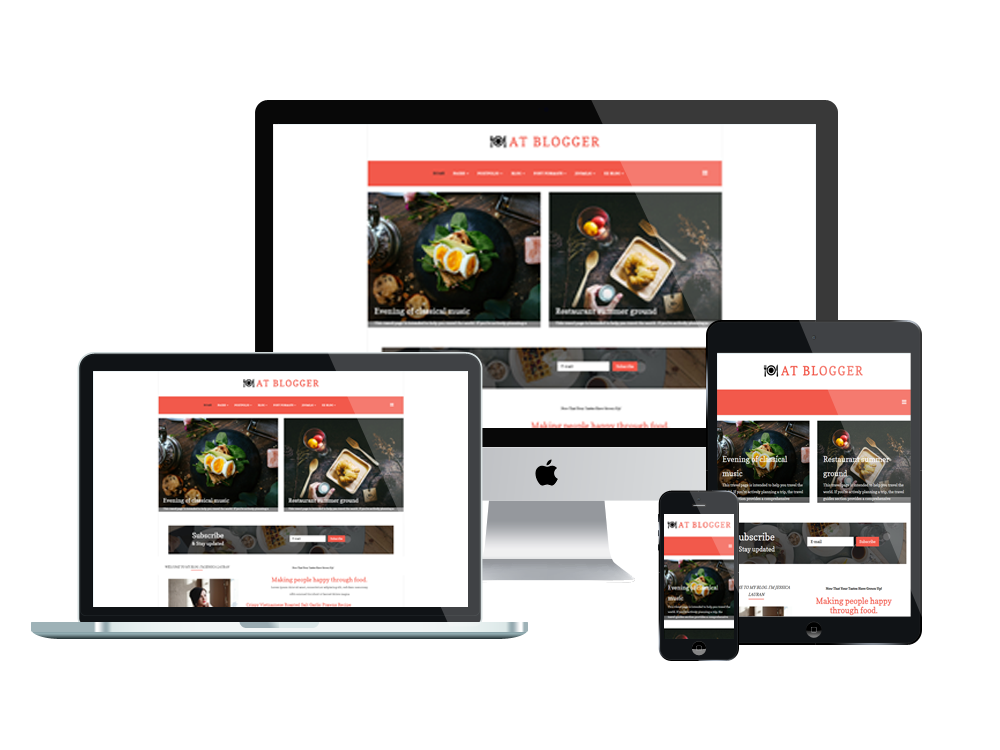 at blogger  u2013 free responsive joomla blog template