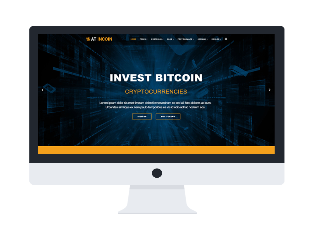 at incoin free responsive cryptocurrency website template age themes. Black Bedroom Furniture Sets. Home Design Ideas