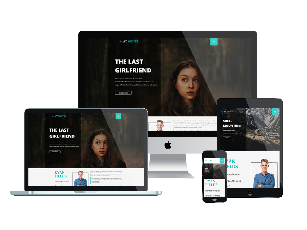 at writer free responsive joomla template - Free Responsive Website Templates