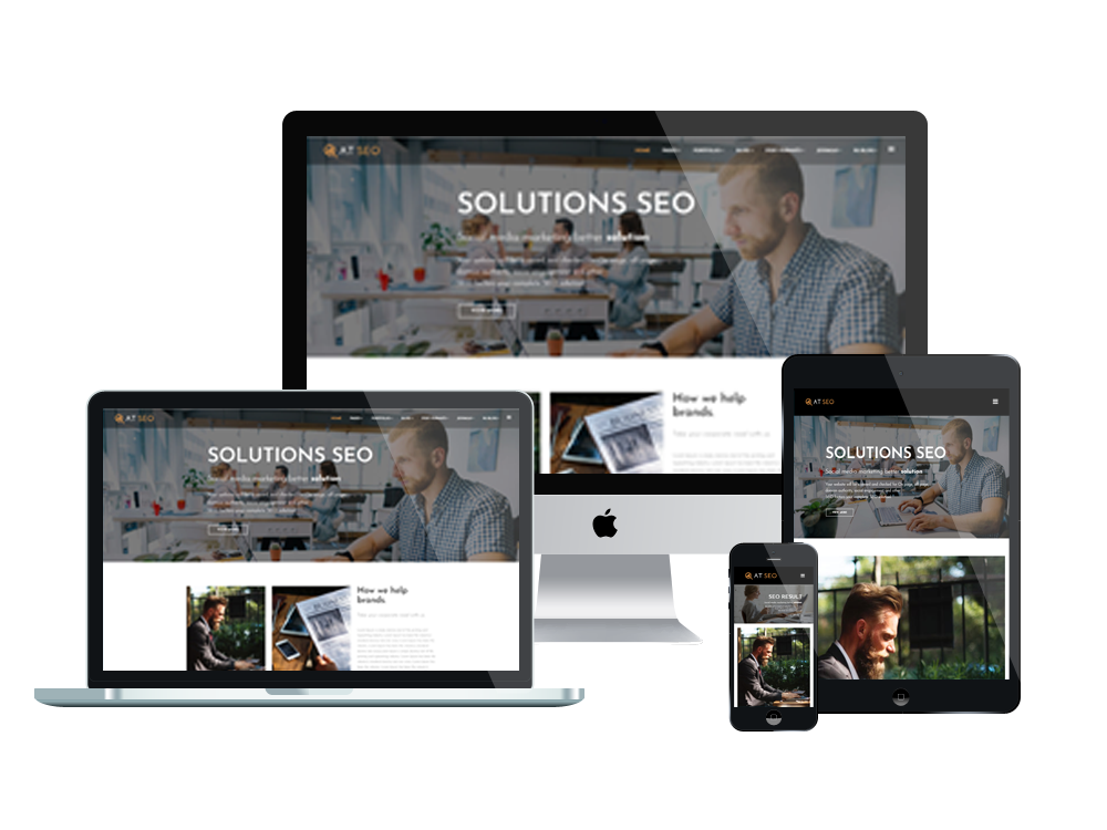 AT SEO – Free Responsive Marketing Joomla Template
