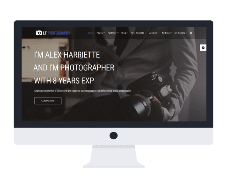 LT-Photography-template-features