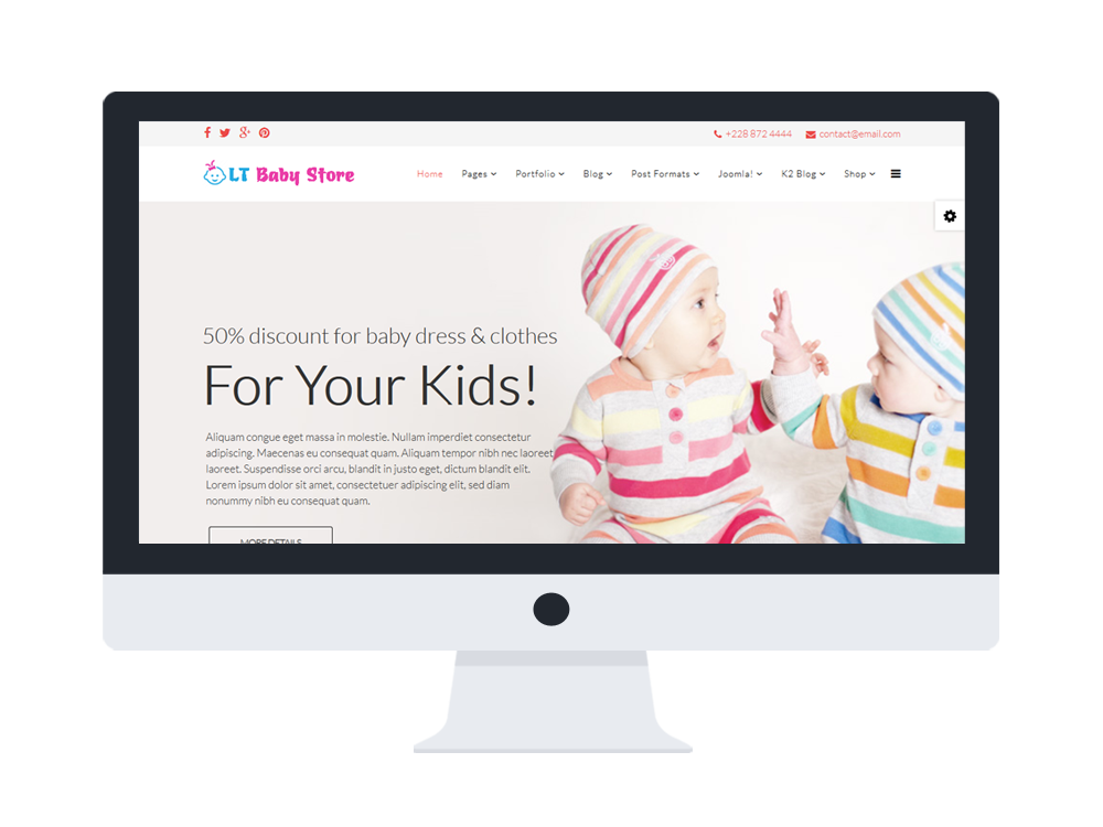 LT-Baby-Shop-Template-Features