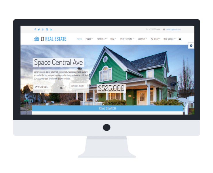 LT-Real-Estate-Template-Features