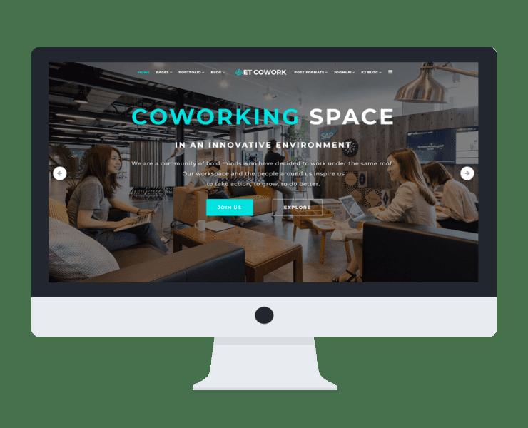 et-cowork-free-responsive-joomla-template-mockup