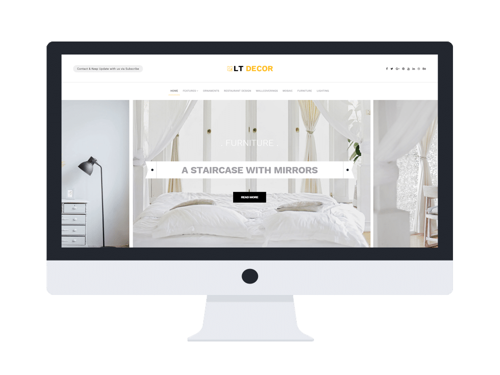 LT Decor - Creative Interior Decorating website template ...