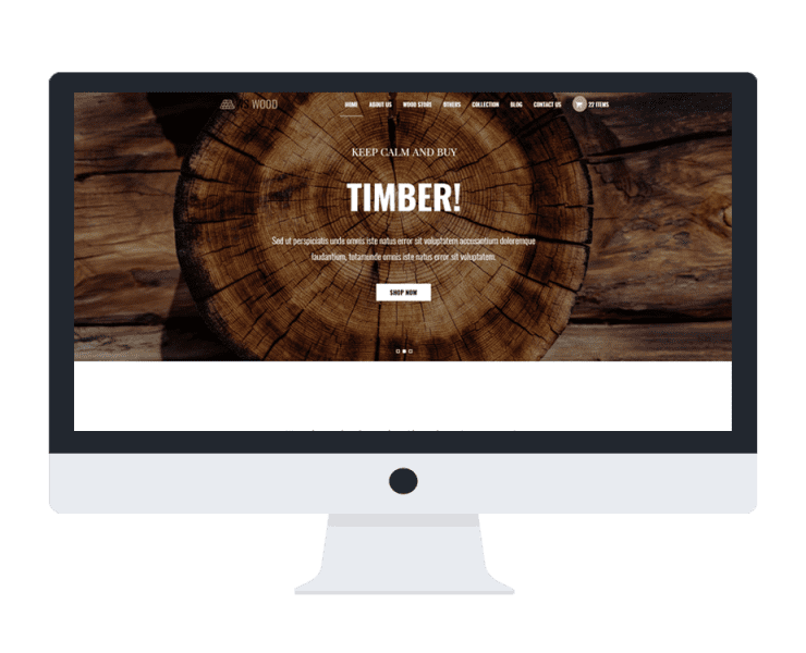 ws wood woocommerce wordpress theme
