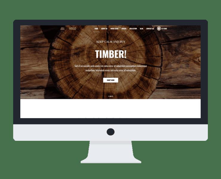 ws wood woocommerce wordpress theme