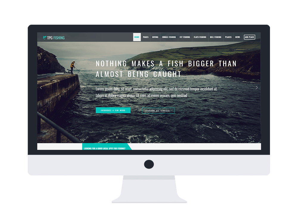 tpg fishing free wordpress theme