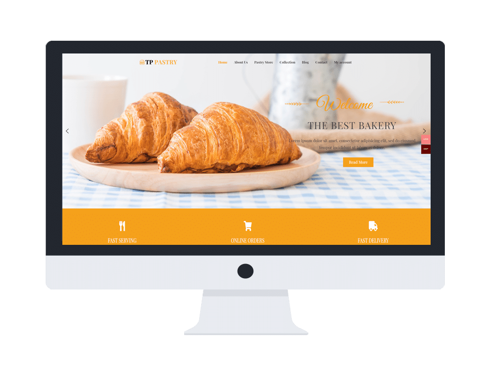 tpg pastry free wordpress theme