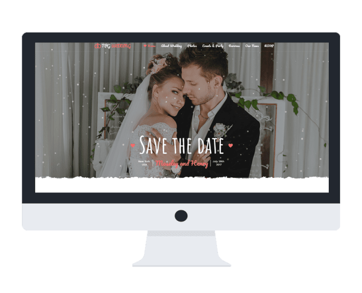 tpg wedding free wordpress theme