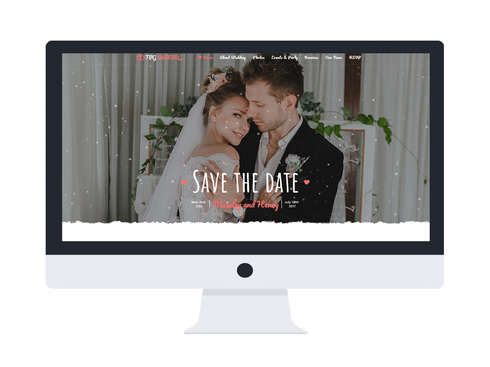 tpg wedding free wordpress theme