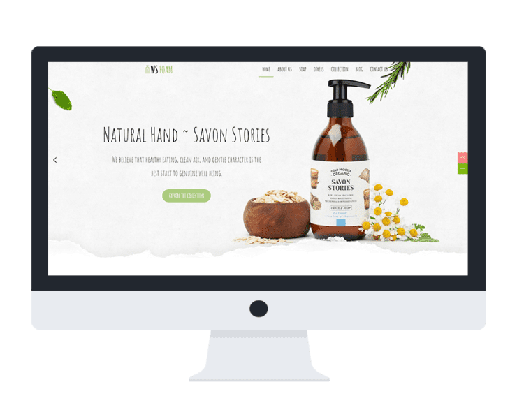 ws foam free woocommerce wordpress theme