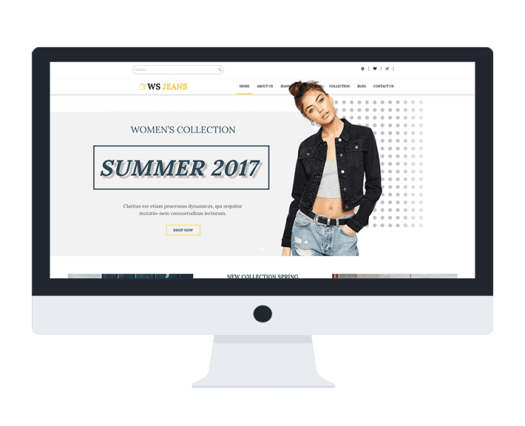 ws jean free woocommerce wordpress theme