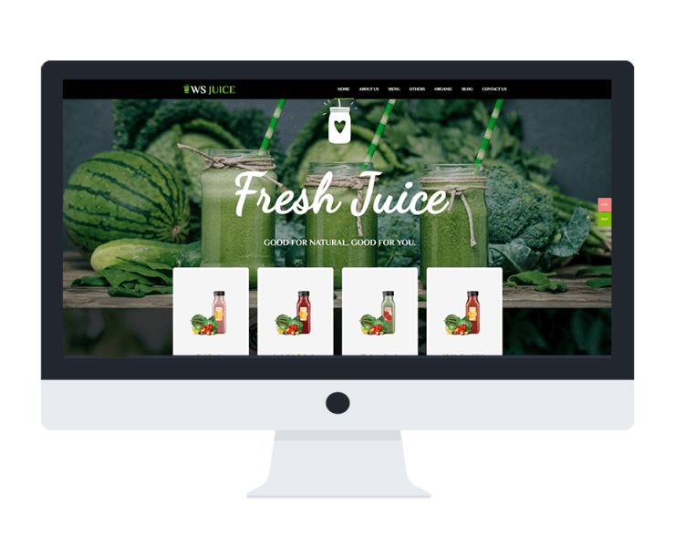 ws juice free woocommerce wordpress theme