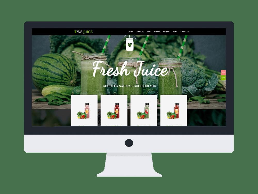 ws juice free woocommerce wordpress theme
